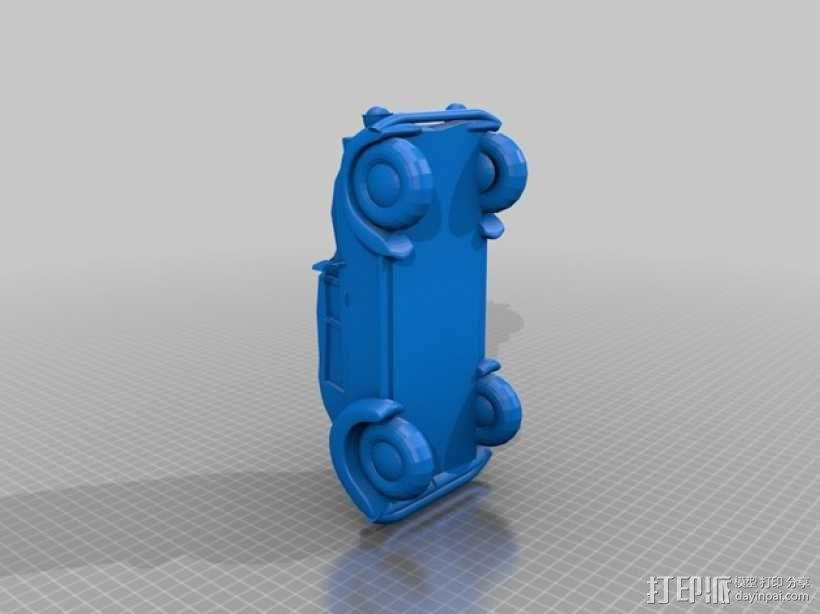 大众甲壳虫系列汽车 3D模型  图1