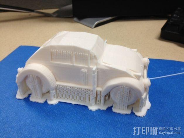 大众甲壳虫系列汽车 3D模型  图3