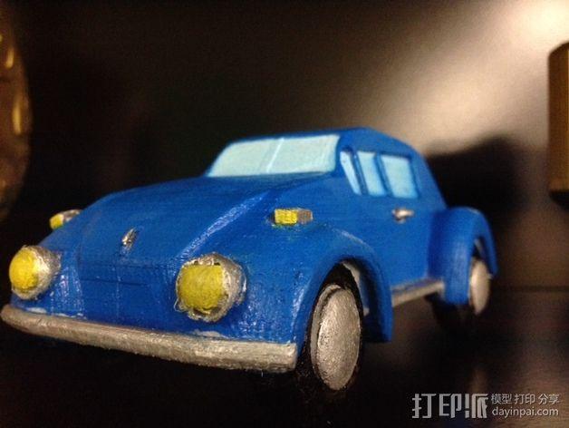 大众甲壳虫系列汽车 3D模型  图5