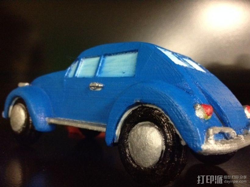 大众甲壳虫系列汽车 3D模型  图7