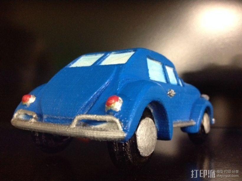 大众甲壳虫系列汽车 3D模型  图6
