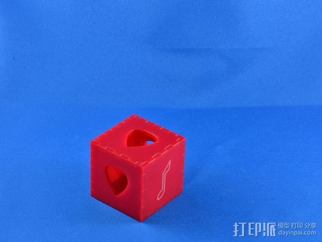 吉他拨片 小盒 3D模型  图3