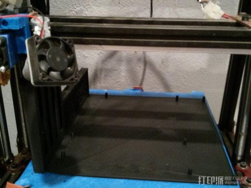 ATX主板托架 3D模型  图3