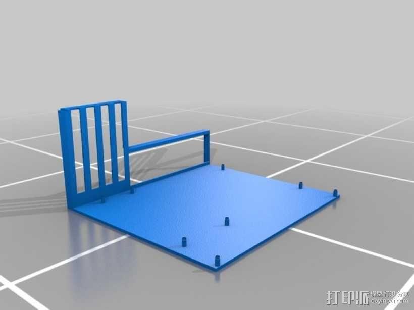 ATX主板托架 3D模型  图2