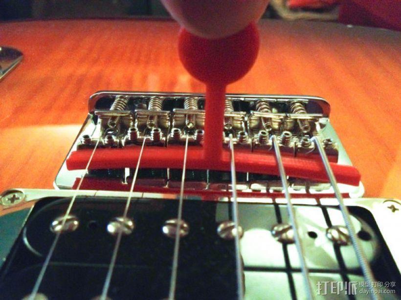 吉他弦测量装置 3D模型  图1
