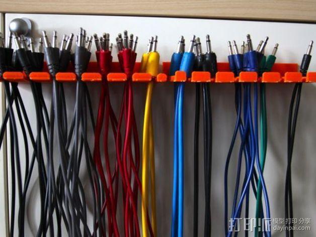 电缆支架 3D模型  图3