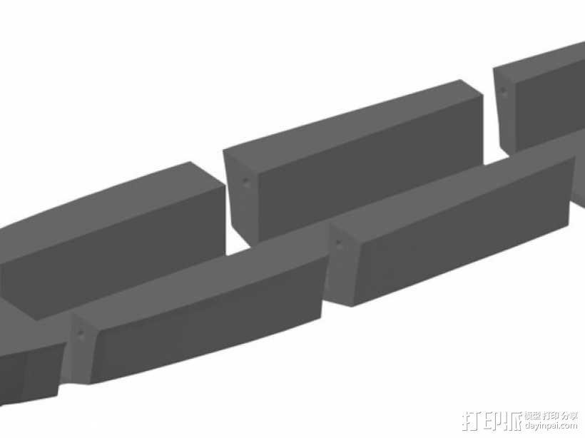 PT109船体  3D模型  图1