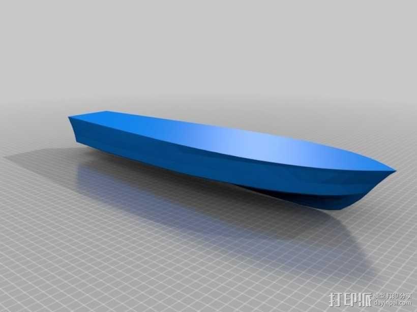 PT109船体  3D模型  图5