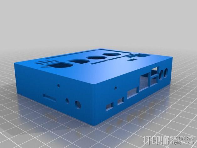 UDOO电路板外壳 3D模型  图2