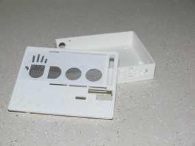 UDOO电路板外壳 3D模型