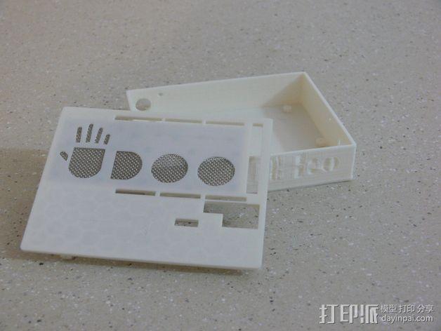UDOO电路板外壳 3D模型  图3