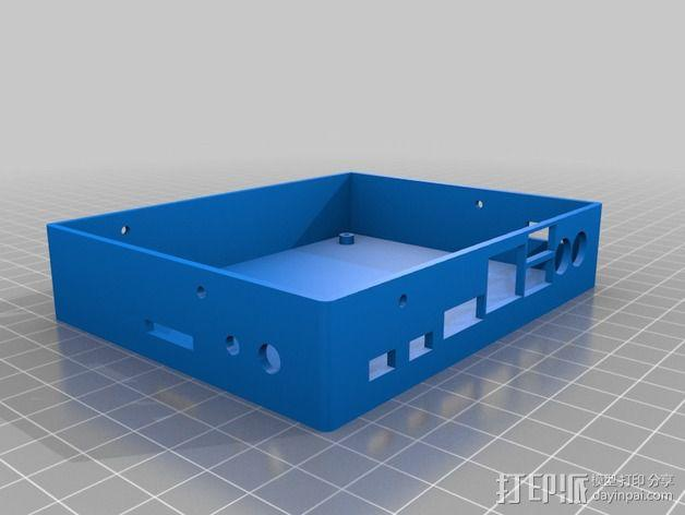 UDOO电路板外壳 3D模型  图7