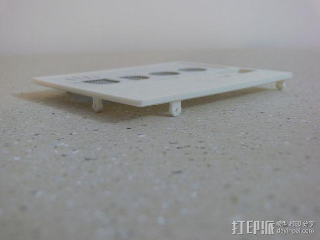 UDOO电路板外壳 3D模型  图11