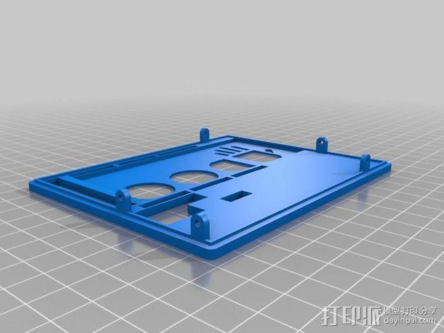 UDOO电路板外壳 3D模型  图10