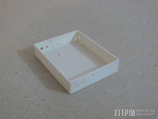 UDOO电路板外壳 3D模型  图9