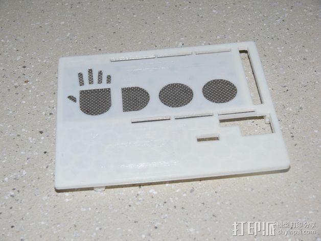 UDOO电路板外壳 3D模型  图15