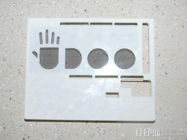 UDOO电路板外壳 3D模型  图13