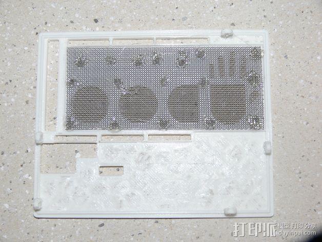 UDOO电路板外壳 3D模型  图14