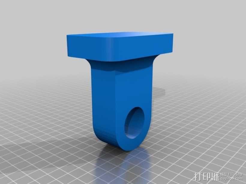 哑铃 3D模型  图2