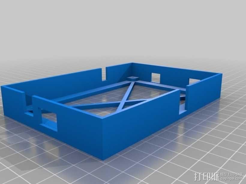 BladeRF电路板保护盒 3D模型  图2
