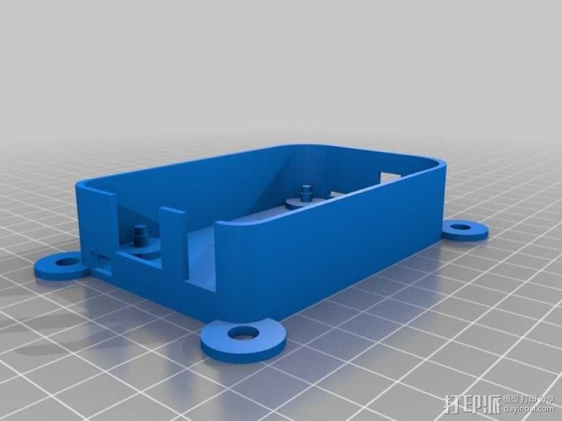 树莓派外盒 3D模型  图1
