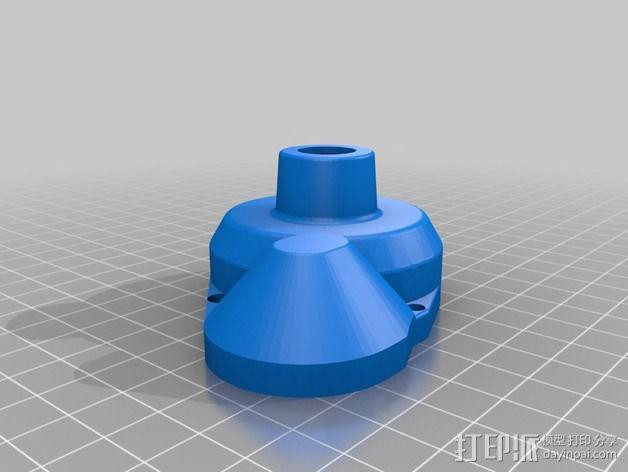 离合器盖 3D模型  图2