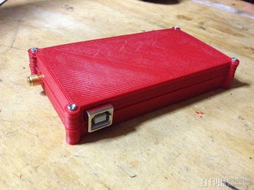 电路板保护盒 3D模型  图1