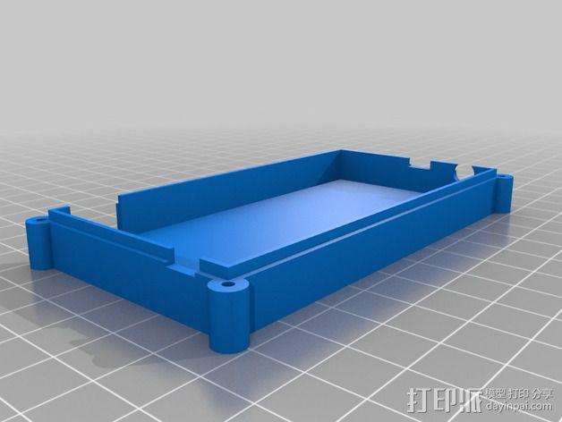 电路板保护盒 3D模型  图3