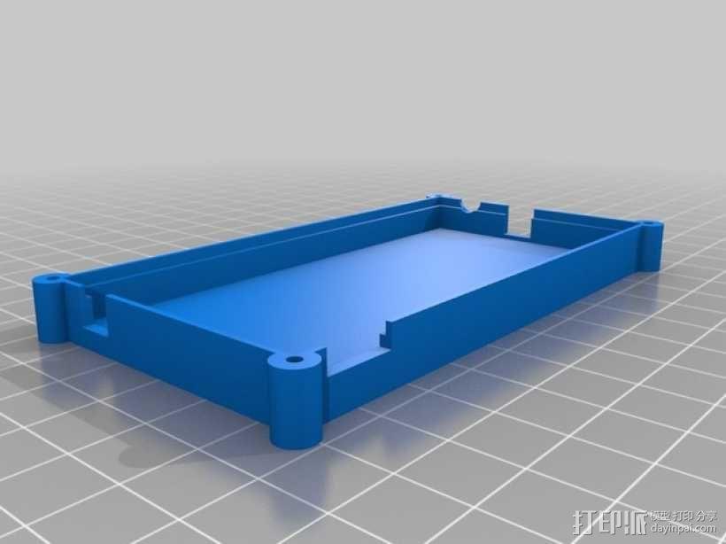 电路板保护盒 3D模型  图4
