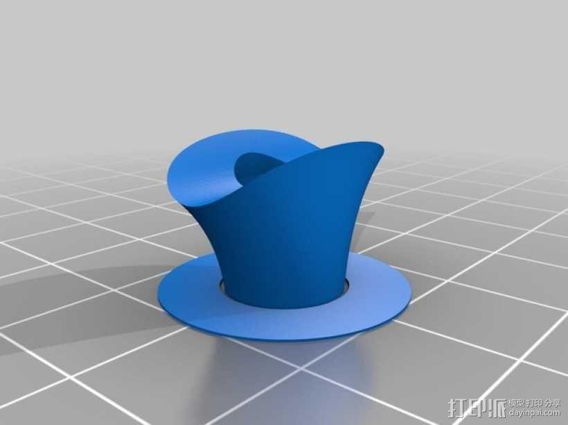 自行车轮胎稳压器 3D模型  图3