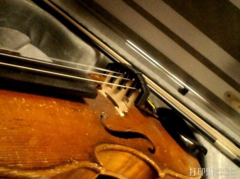 小提琴弱音器 3D模型  图4