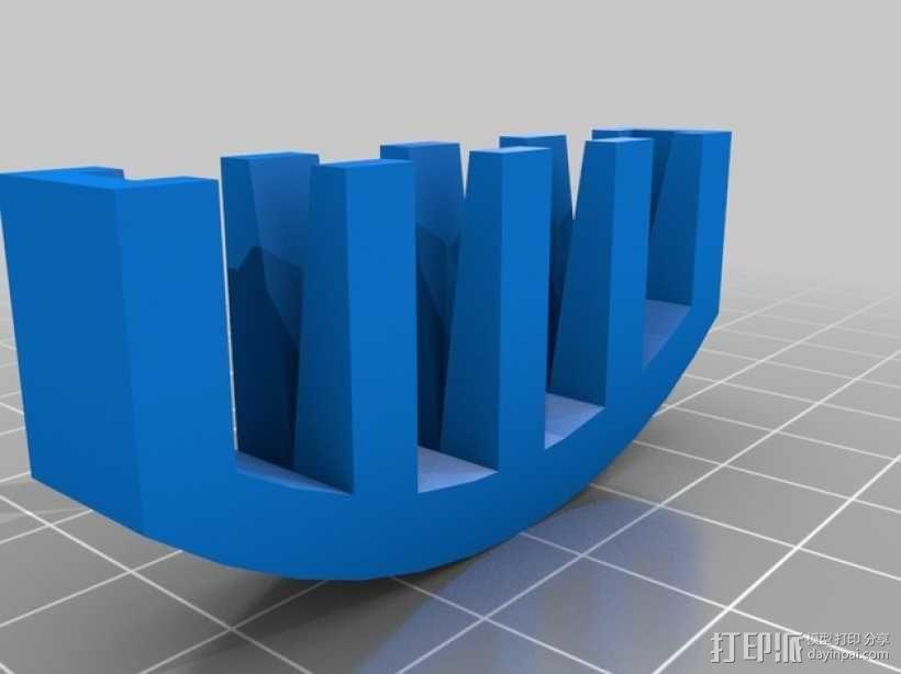 小提琴弱音器 3D模型  图2