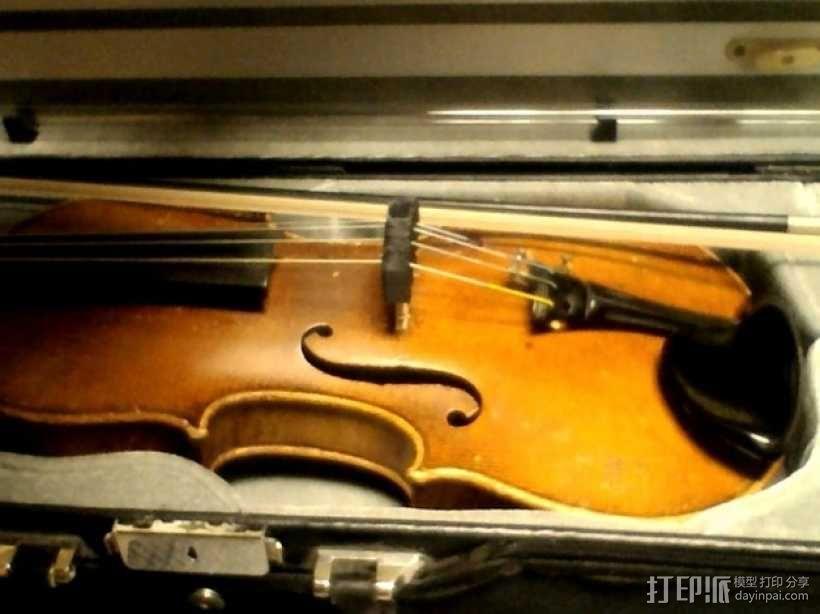 小提琴弱音器 3D模型  图1