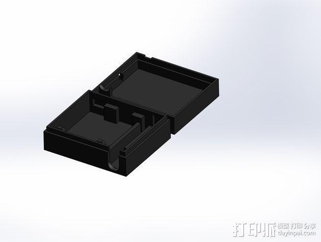 3DR/RCT Radio + CRIUS GPS保护外盒 3D模型  图11