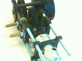 遥控坦克齿轮马达 3D模型
