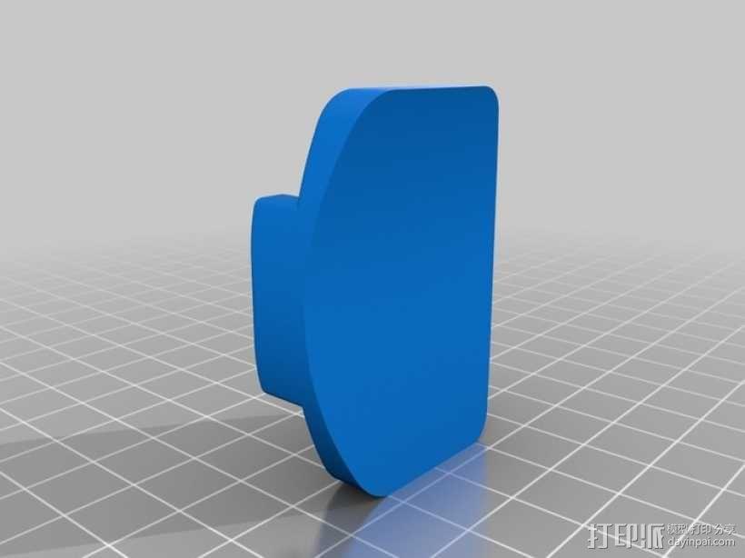 GoPro相机支撑杆 3D模型  图3