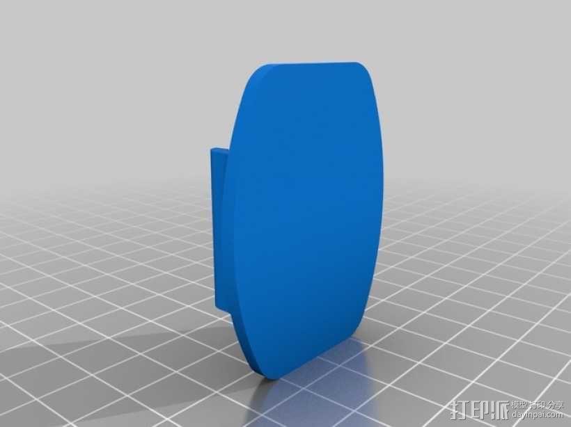 GoPro相机支撑杆 3D模型  图4