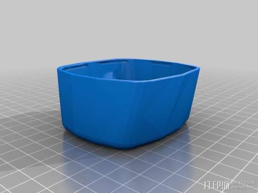 GoPro Hero 2相机固定器 3D模型  图2