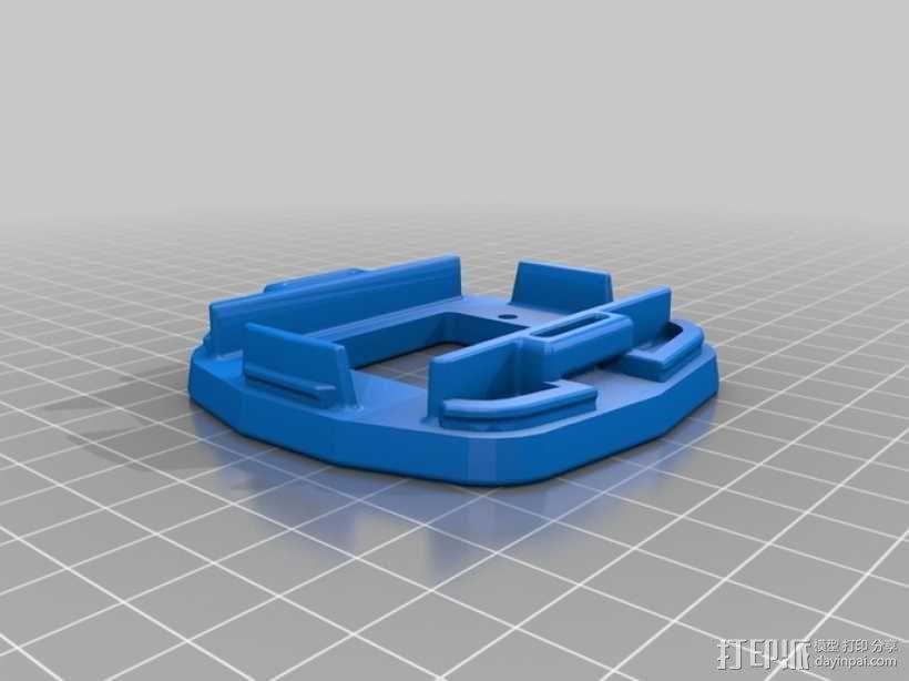 GoPro Hero 2相机固定器 3D模型  图3