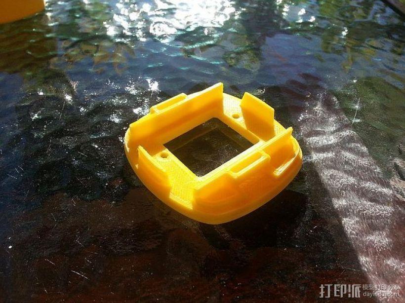 GoPro Hero 2相机固定器 3D模型  图6