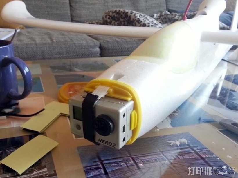 GoPro Hero 2相机固定器 3D模型  图10