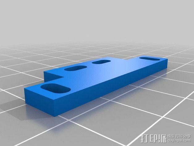 坦克车手机架  3D模型  图2