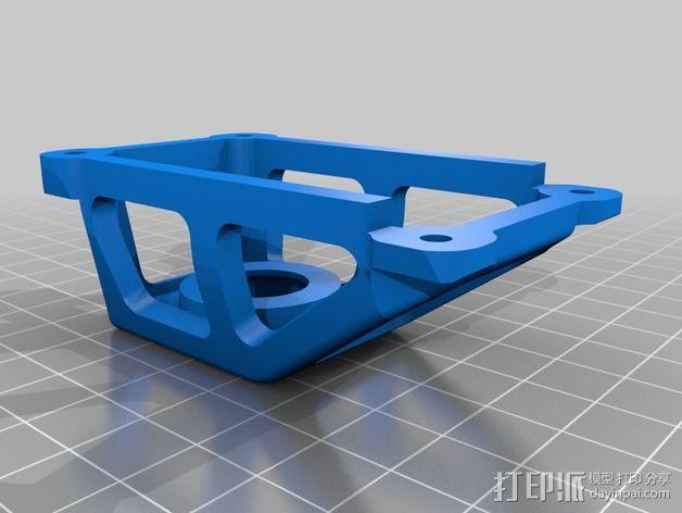 坦克车手机架  3D模型  图4
