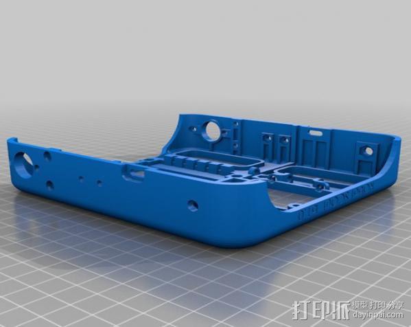 坦克车手机架  3D模型  图6