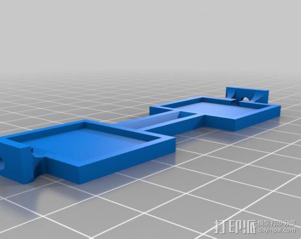 坦克车手机架  3D模型  图10