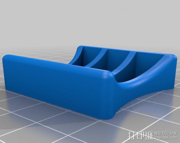 坦克车手机架  3D模型  图11