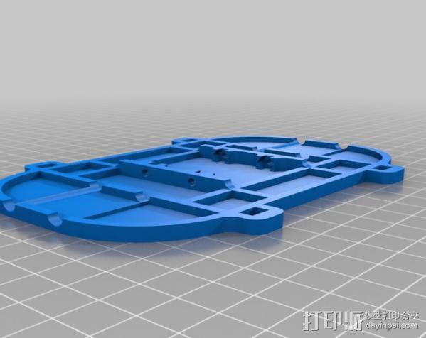 坦克车手机架  3D模型  图14