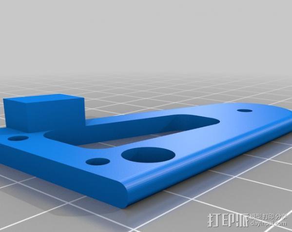 坦克车手机架  3D模型  图13