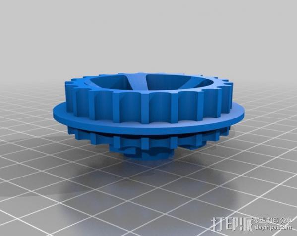 坦克车手机架  3D模型  图16