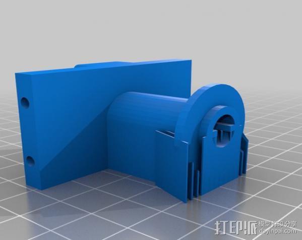 坦克车手机架  3D模型  图21